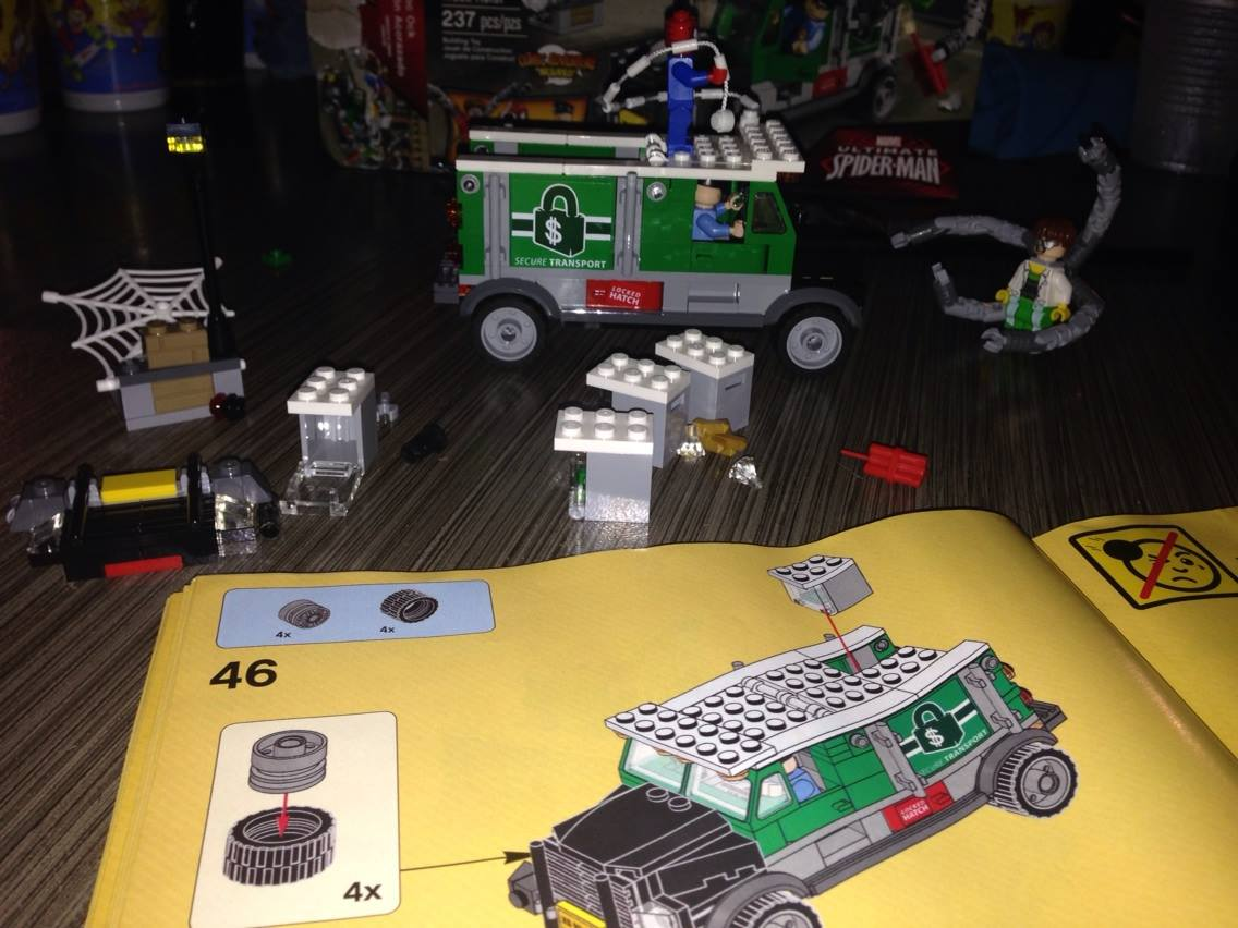 2.5 hrs and 49 pages later, I officially hated Lego.